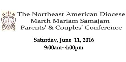 2016 Annual Parents' and Couples' Conference