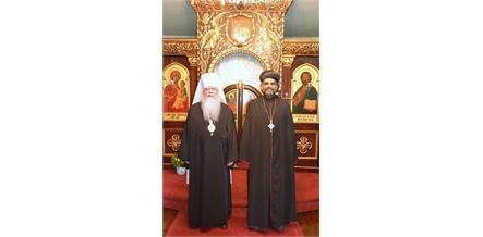 His Grace Zachariah Mar Nicholovos Guest of Metropolitan Tikhon