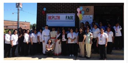 2014 Northeast American Diocese Community Health Fair